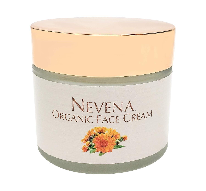 WFG WATERFALL GLEN SOAP COMPANY, LLC, Nevena organic face cream, ProVitamin B5 and Vitamin A Esters