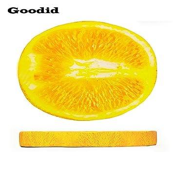 Goodid colchón colcholeta para perro y gato, cama cómoda de diseño gracioso de fruta para mascotas (90*62*8cm, Naranja): Amazon.es: Hogar