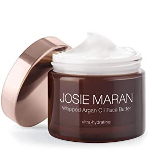 Josie Maran Whipped Argan Oil Face Butter - Nourish and Protect Skin While Reducing Redness and Fine Lines (50ml/1.7oz.)