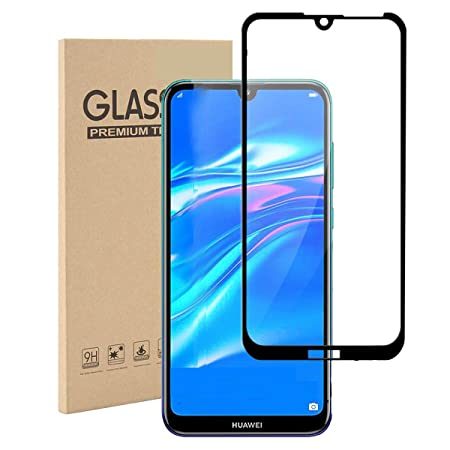 Amazon.com: Toppix Tempered Glass for Huawei Y7 2019, Screen ...