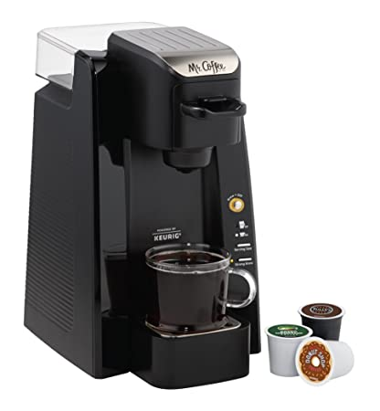 Amazoncom Mr Coffee Bvmc Sc500 1 Single K Cup Brewing System 24