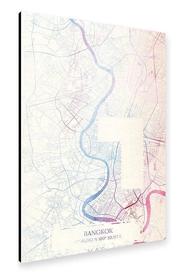 Amazon.de: artboxONE Alu-Print 150x100 cm Maps Reise Städte \