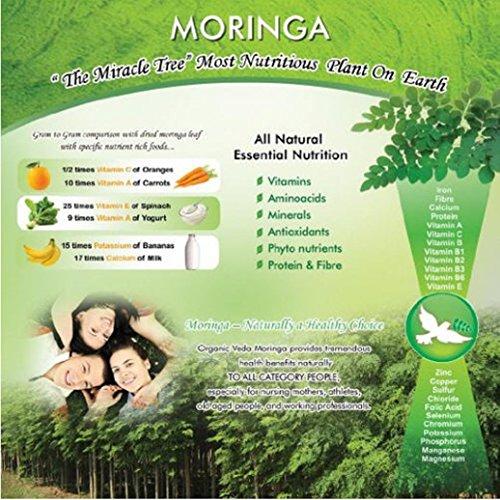 organic veda organic moringa leaf powder usda organic pet food save