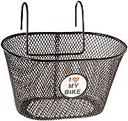 Ventura Youth Wire Basket (Black, 25 X 15 X 14.5 cm)