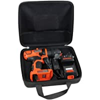 Hard Travel Case for Black+Decker LDX120C 20-Volt MAX Lithium-Ion Cordless Drill/Driver by Hermitshell