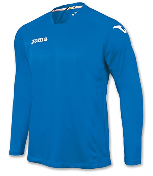 Joma Boy s Fit One Manga Larga Camiseta de fútbol