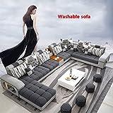 Amazon.com: Nrthtri - Juego de muebles de salón y sofá ...