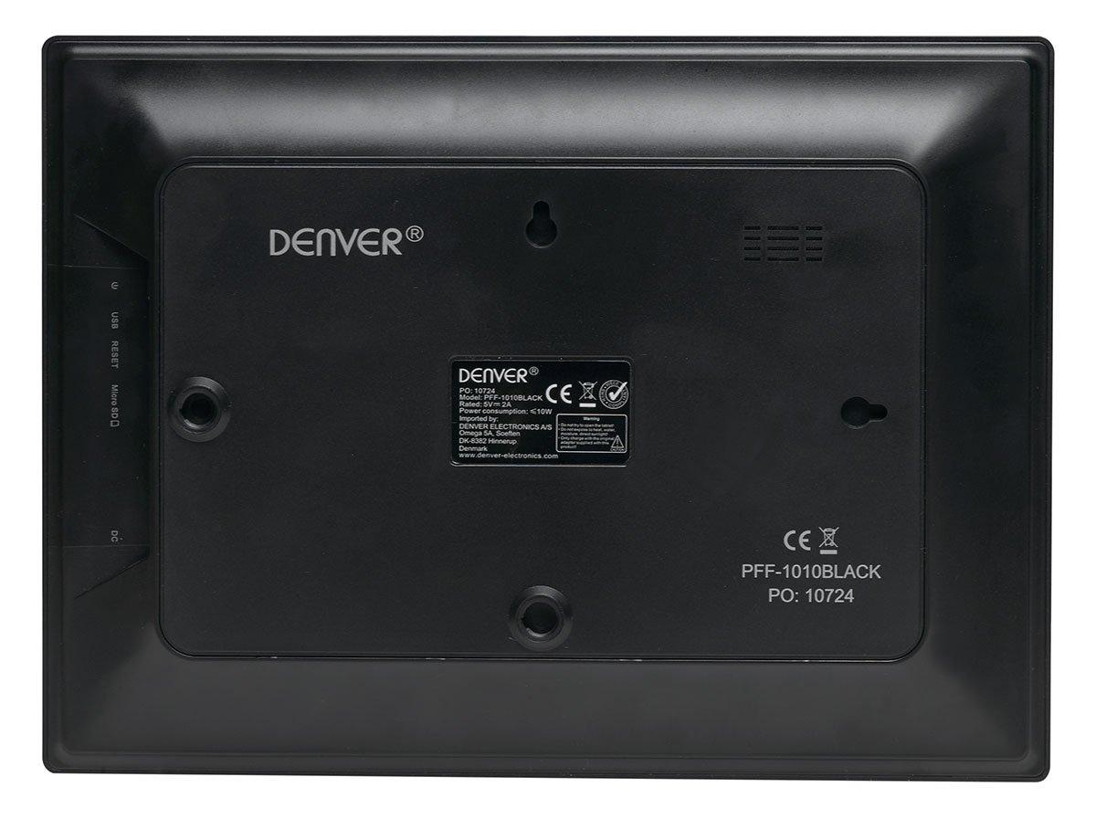 Denver marco fotos pff-1010_black negro: Amazon.es: Electrónica