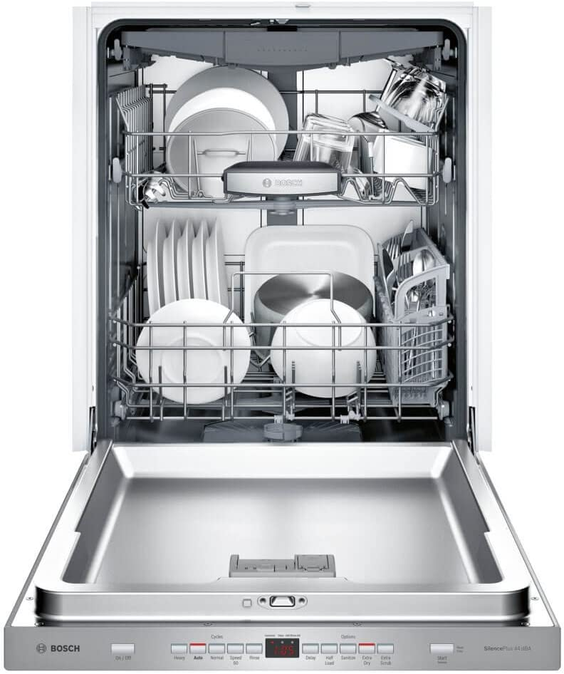 Bosch SHP865WD5N 500 Series Built In Fully Integrated Dishwasher with 5 Wash Cycles in Stainless Steel
