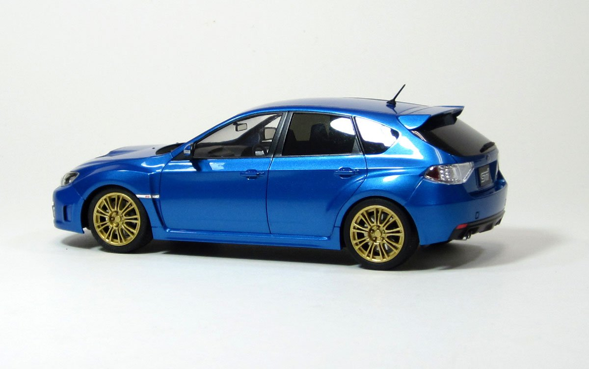 Amazon aos49747 124 aoshima subaru impreza wrx sti option amazon aos49747 124 aoshima subaru impreza wrx sti option wheel version model kit toys games vanachro Gallery