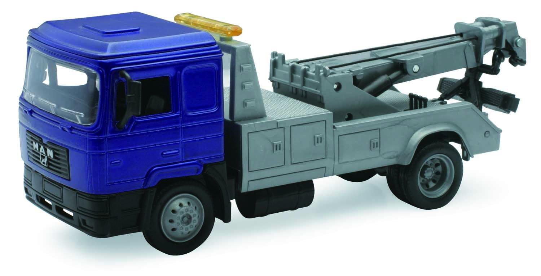 NEWRAY 15498–Utility Trucks Man F2000Towing, Die Cast 1: 43Scale Die Cast 1: 43Scale