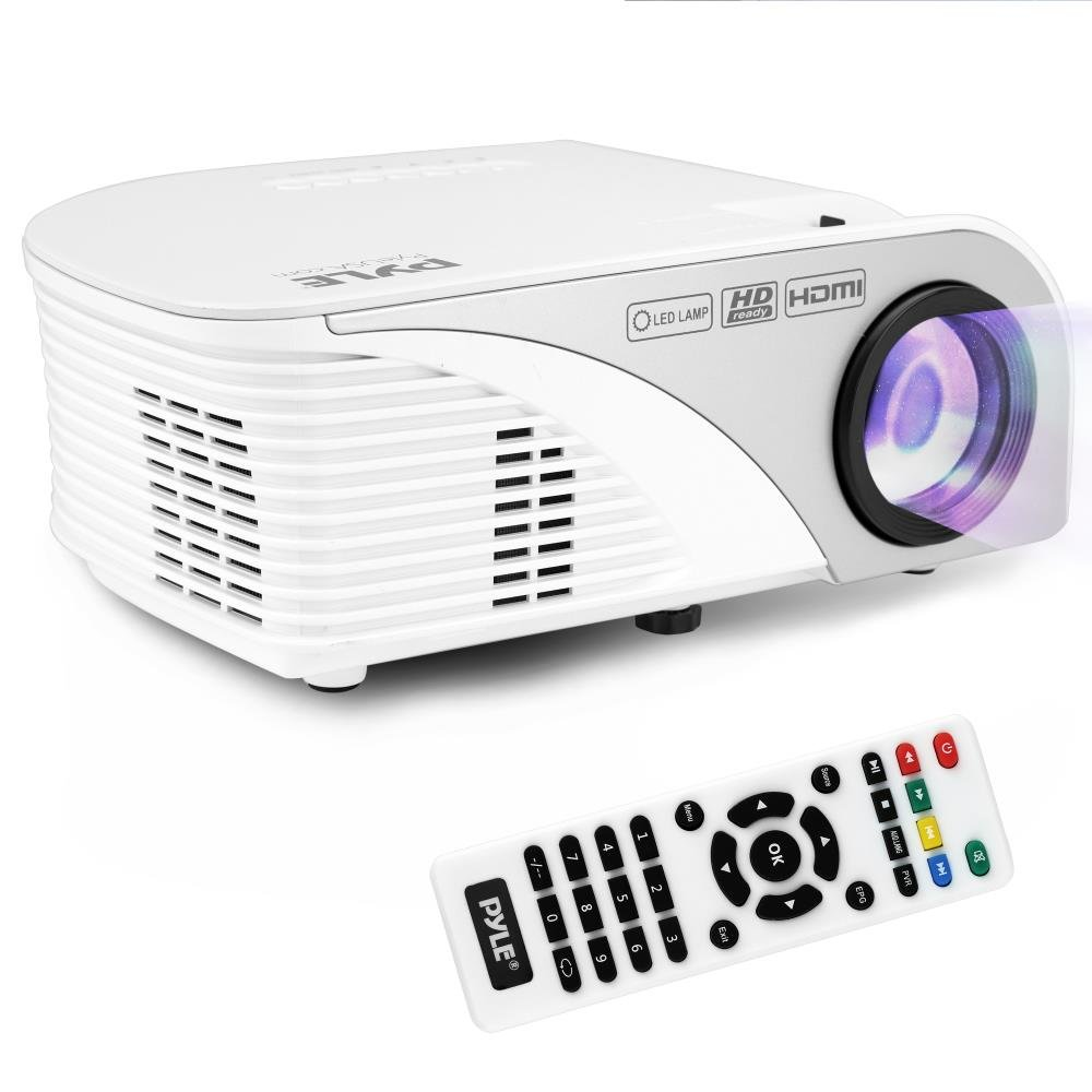 Pyle PRJG95 Video Projector 1080p Full HD Digital Multimedia Mini Home Theater Cinema