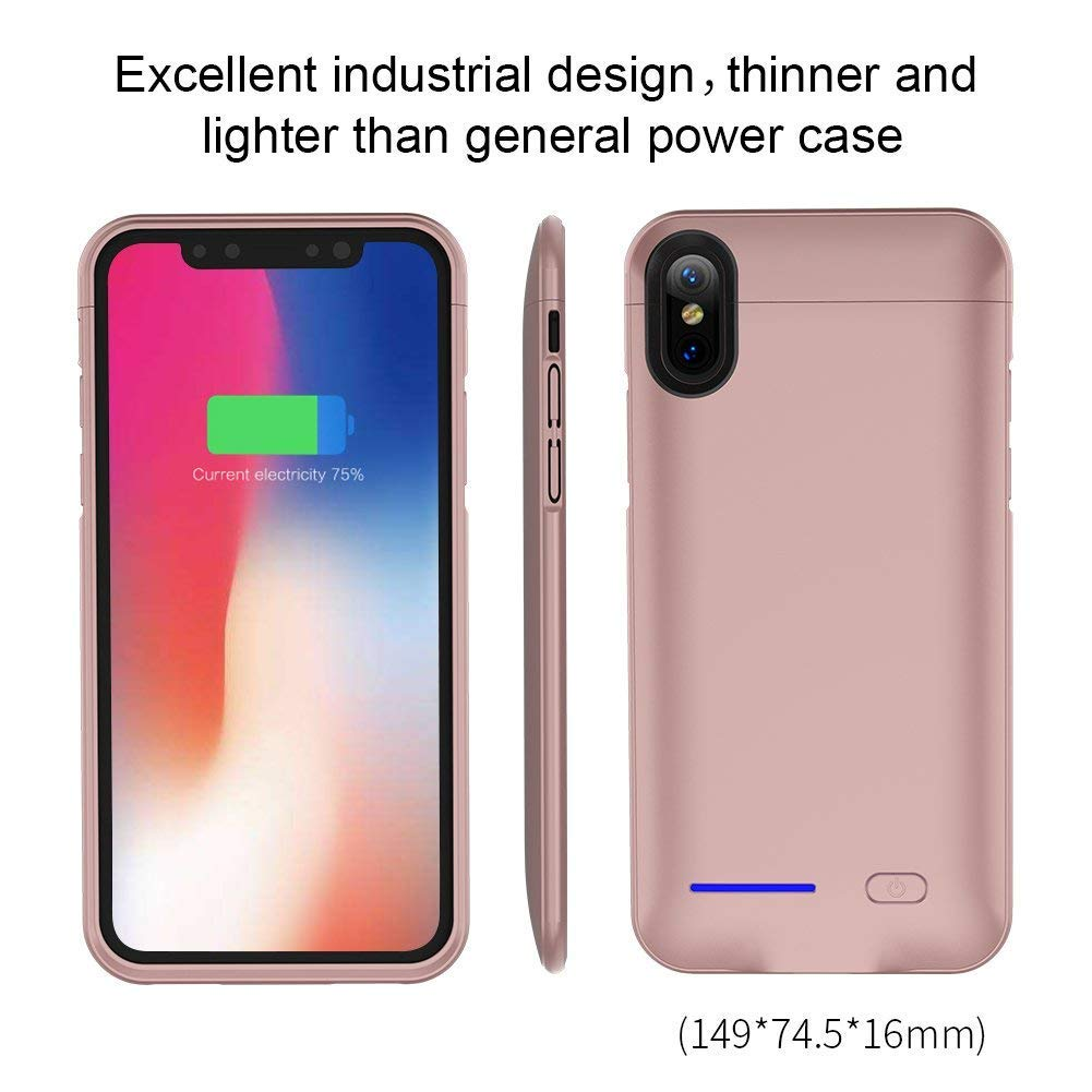 Funda Con Bateria De 4000mah Para Apple iPhone X/xs Laqueen [79c9f58h]