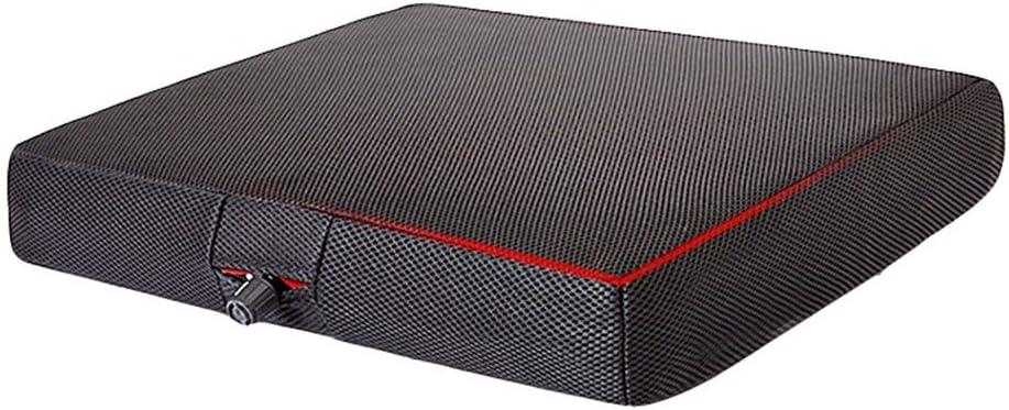 ZCPDP Cojín Inflable Automático Cojín Anti Decúbito Descompresión Transpirable Ancianos Oficina del Coche Butt Pad Sillas de Ruedas Accesorios