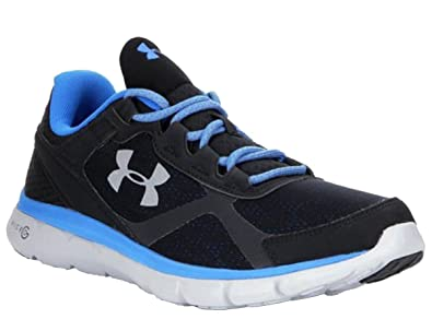 Under Armour Micro G Velocity Reflective Run Nite Men s Running Shoes Size  US 13. Black e915abcfa230
