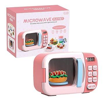 Microondas de Juguete para niños Microondas con cocinas de Sonido ...