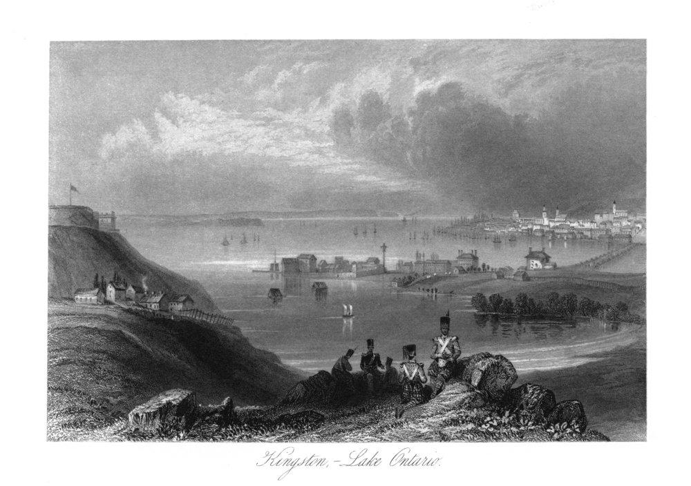 Kingston , Ontario – Panoramic View Of Lake Ontario 36 x 54 Giclee Print LANT-26441-36x54 B01MG3N1TU  36 x 54 Giclee Print
