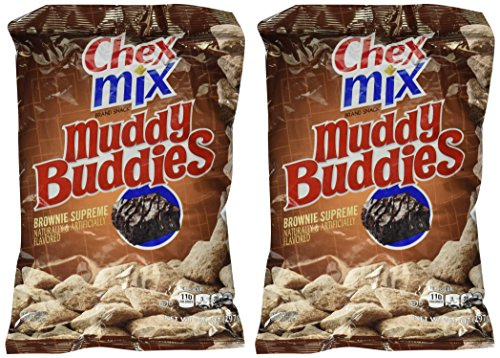 Chex Mix Muddy Buddies Brownie Supreme, 2 packages of 10.5 Ounces