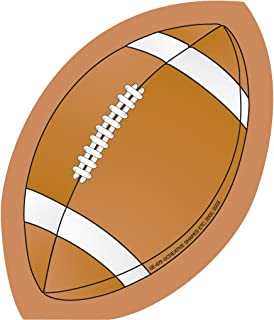 product image for SHAPES ETC. Football Mini Notepad Brown