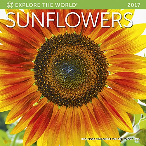 Sunflowers Wall Calendar 2017