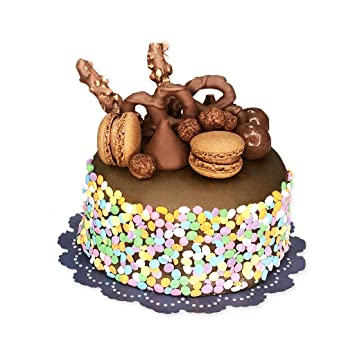 Mini Birthday Cakes 2 Pack By Send A Cake Chocolate Vanilla