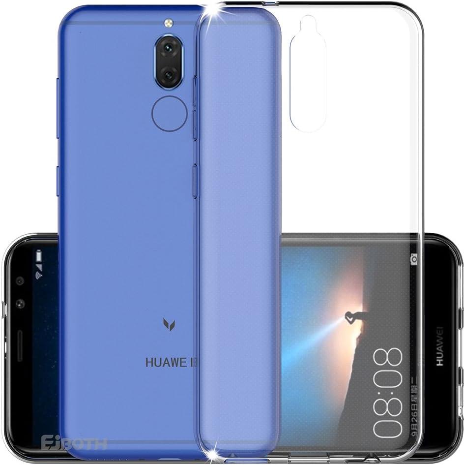 Funda Huawei Mate 10 Lite, funda protectora EJBOTH TPU Funda protectora de silicona con cubierta suave para Huawei Mate 10 Lite - Funda protectora antirrayas con protección contra rasguños.