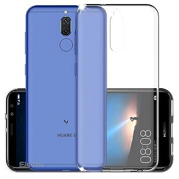 Funda Huawei Mate 10 Lite, EJBOTH TPU Funda Flexible Teléfono Carcasa Protectora espalda Protección integral transparente - Antideslizante Rasguño ...