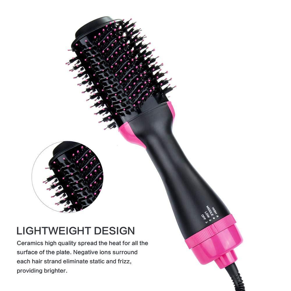2019 Hot Air Rotating Hair Brush Hot Air Styler Brush Factory Hair Straightening Brush Infrared by SEADOSHOPPING (Image #2)
