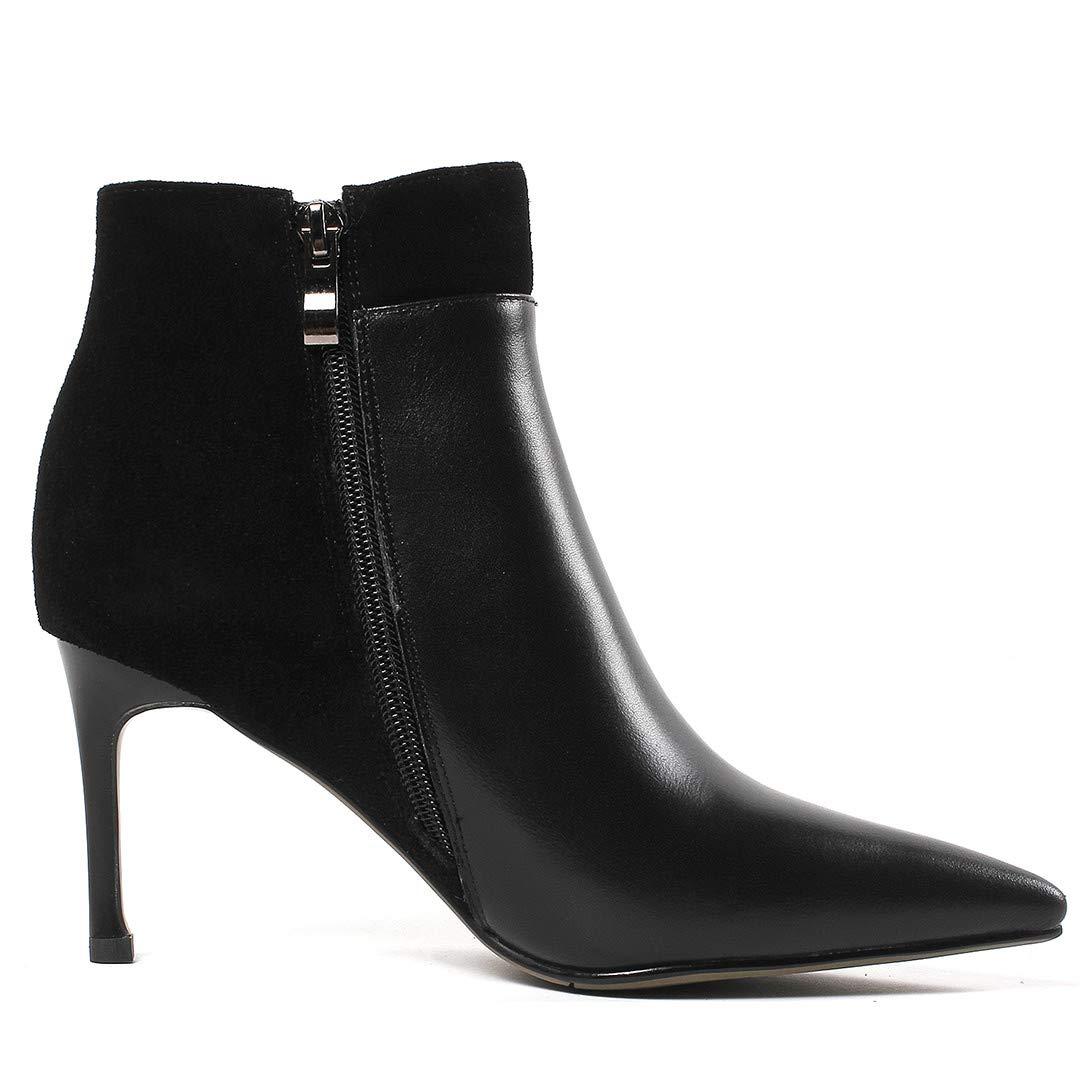 MAYPIE Donna Toappen Leather Cerniera Tacco a a a Spillo Stivali a705ba