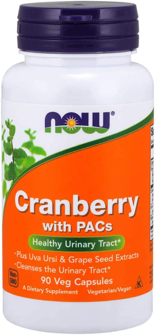 Now Foods Standardized Cranberry 90 Vcaps