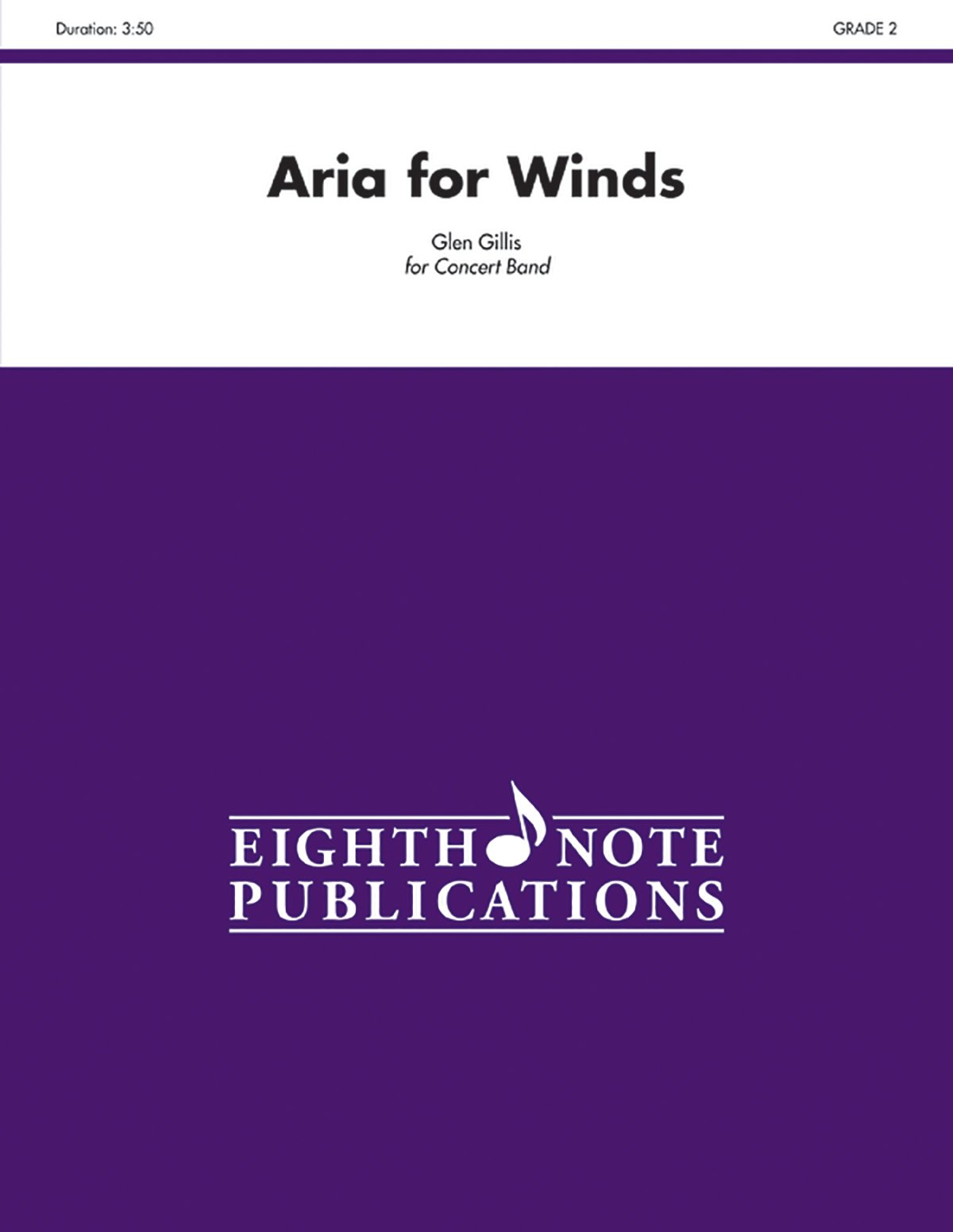 Download Aria for Winds: Conductor Score & Parts (Eighth Note Publications) pdf
