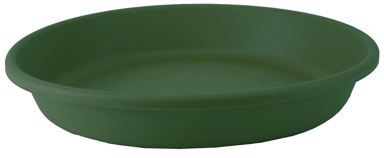 Akro Mils SLI24000B91 Classic Saucer for 24-Inch Classic Pot, Evergreen, 21.13-Inch
