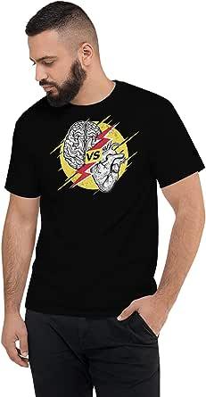 Art Gallery Misr HeArt Vs. Mind T-Shirt