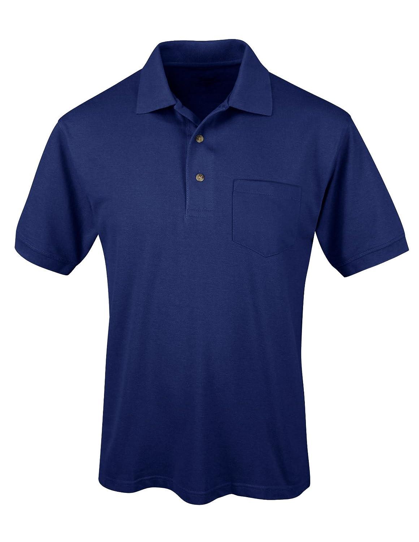 S//S Pocket Polo Shirt Tri-Mountain Mens 096 Element Ltd
