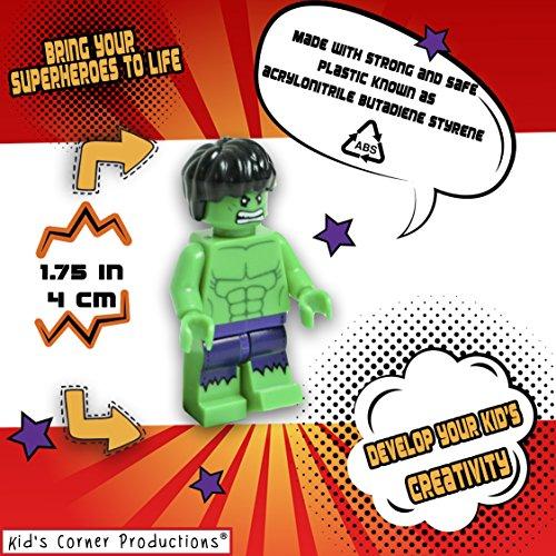 Kids Corner Productions Super Heroes Lego Figuras 9 Set
