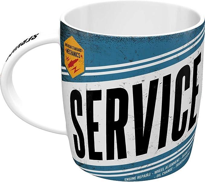 Kaffeetasse Best Garage Green Werkstatt Becher,Souvenir Tasse,330 ml.