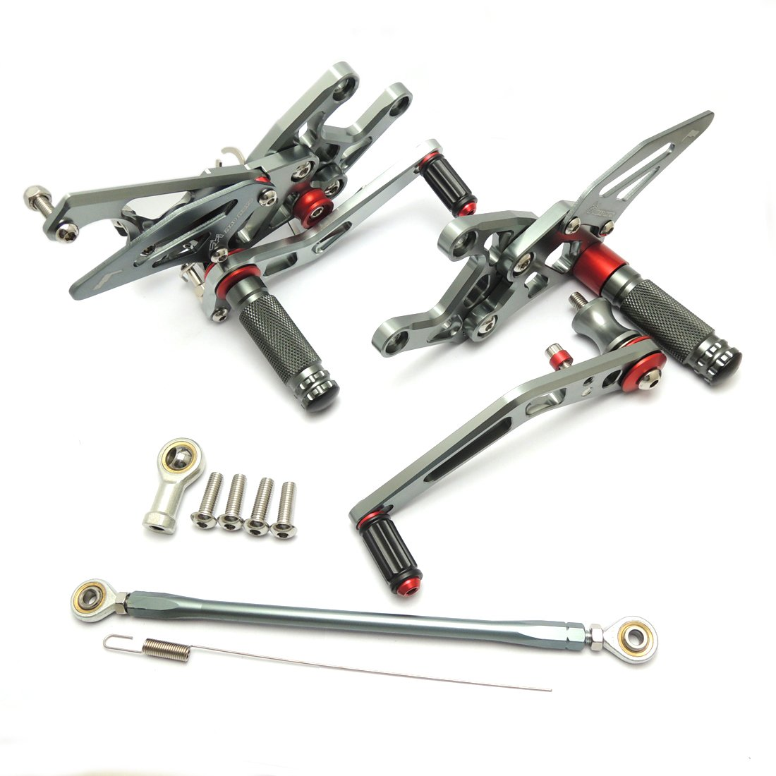 Titanium CBR1000RR Rearset CNC Adjustable Foot Pegs Rear Sets for Honda CBR 1000RR 2008-2014