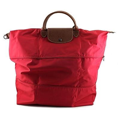 Longchamp Le Pliage Travel Bag Women Red Tote  Amazon.co.uk  Shoes   Bags f615d42e62157