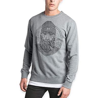 VIENTO Real Captain Herren Sweatshirt  Amazon.de  Bekleidung 4f6a33baaf
