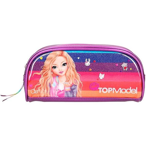 Top Model 006378 - Estuche tubular: Amazon.es: Oficina y papelería