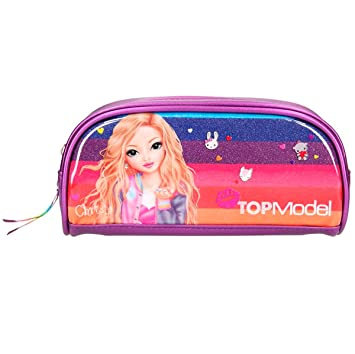 Top Model- Estuche Tubular TOPModelFriends Purpurina ...