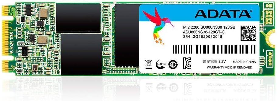 ADATA SU800 128GB M.2 2280 SATA 3D NAND Internal SSD (ASU800NS38-128GT-C)