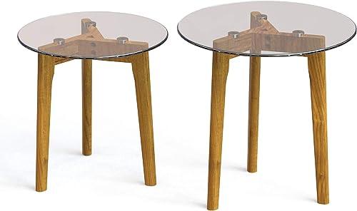 Estleys Set of 2 Round Coffee Table