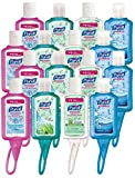 PURELL Advanced Instant Hand Sanitizer - Travel Sized Jelly Wrap Portable Sanitizer Bottles fXbgQ, Scented, 2Units (1 oz, Pack of 8)