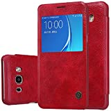 Nillkin Cell Phone Case for Samsung Galaxy J5 2016 (J5108) - Retail Packaging - Red