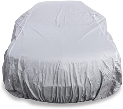 4 Layer Car Cover Soft Breathable Dust Proof Sun Uv Water Indoor Outdoor 4137