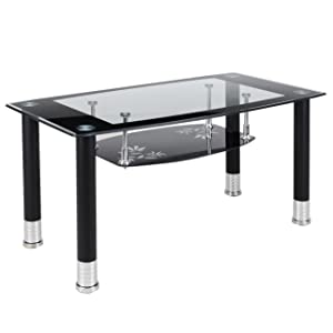 Royaloak Lava Coffee Table (Black)