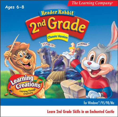 Reader Rabbit 2nd Grade Classic (Jewel Case) by The Learning Company