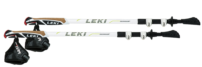LEKI(レキ) 登山 トレッキングポール トラベラー ショート TS2 ホワイト 1300333