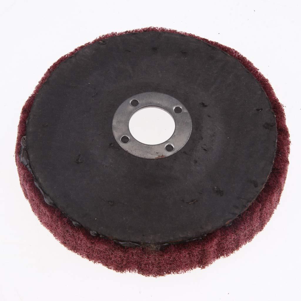 Rosso Grana Sabbia Sharplace Ruota Lucidatura Abrasiva Lucidante Vetro Metallo Marmo Pulizia Utensile Taglio Tampone
